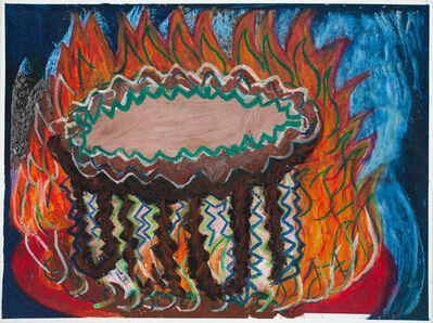 Camille Holvoet, 'Cake on Fire', 2011