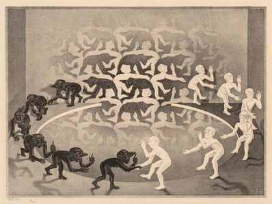 Maurits Cornelis Escher, 'Encounter', 1944
