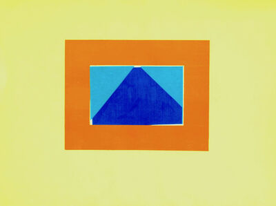 Howard Hodgkin, 'Indian View C', 1971