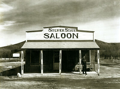 Arthur Rothstein, 'Silver State Saloon, Beowawe, Nevada', 1940