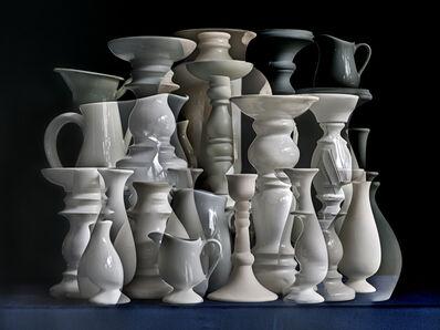 Abelardo Morell, 'White Vessels. Composition #1', 2019