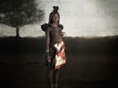 Christopher Rimmer, 'Ovahimba Maiden, Kunene River, Southern Angola', 2015