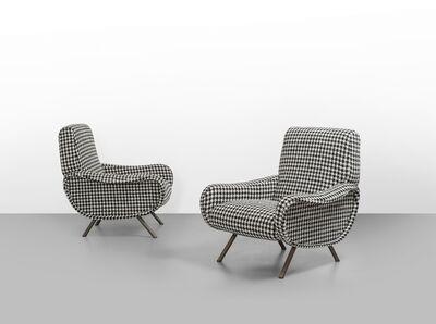 Marco Zanuso, 'Two 'Lady' armchairs', 1951
