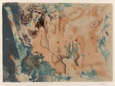 Salvador Dalí, 'Three Hippies', 1970