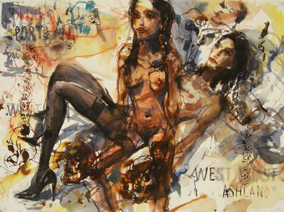 Brad Kahlhamer, 'West Ashland', 2007