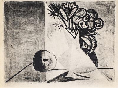 Pablo Picasso, 'Nature Morte Au Vase De Fleurs (Still Life With Flower Vase), 1949 Limited edition Lithogrph by Pablo Picasso', 1949