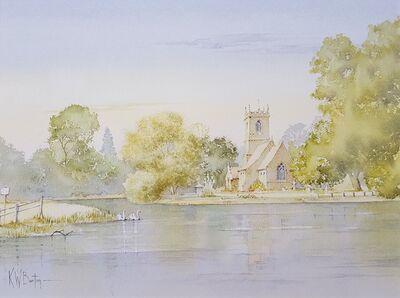 Ken Burton, 'Near Grassington, West Yorkshire, UK', 1988