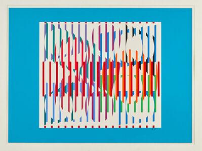 Yaacov Agam, 'Composition, (Hommage aux Prix Nobel)', 1975