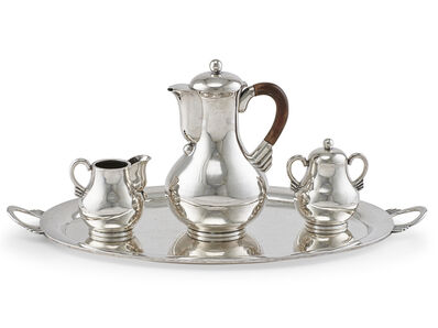 Hector Aguilar, 'Hector Aguilar Sterling Silver Coffee Service', mid 20th c.