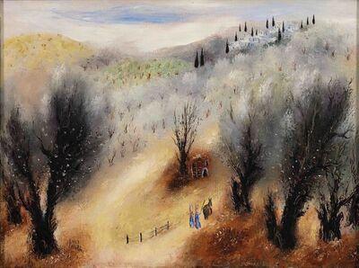 Reuven Rubin, 'Near Nazareth', 1958