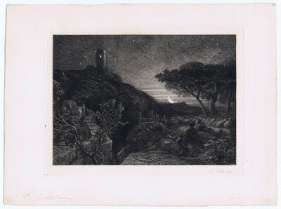 Samuel Palmer, 'The Lonely Tower', 1879