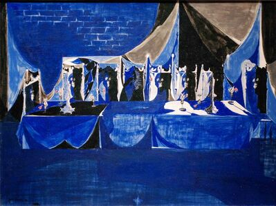Jacob Lawrence, 'After the Show', 1953