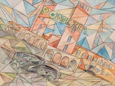 Uberto Bonetti, 'Pomezia', seconda metà Anni '30