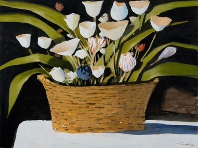 Julio Larraz, 'Flores de papel', 2020