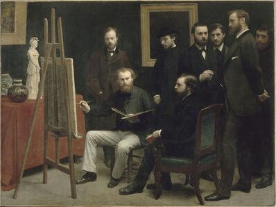 Henri Fantin-Latour, 'Un Atelier aux Batignolles', 1870