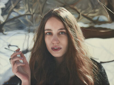 Yigal Ozeri, 'Untitled; Lizzy', 2016