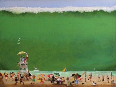 Gerald Purdy, 'Beach O'Maniacs', 2018