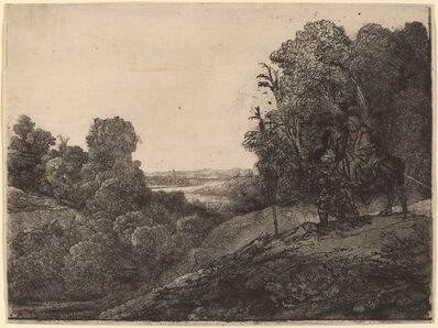 Rembrandt van Rijn, 'The Flight into Egypt: Altered from Seghers', ca. 1653