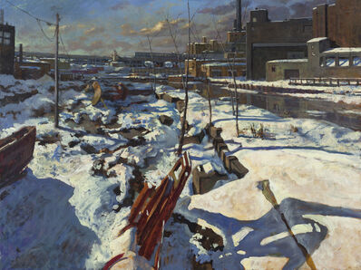 Derek Buckner, 'Snow Cover Evening Light'