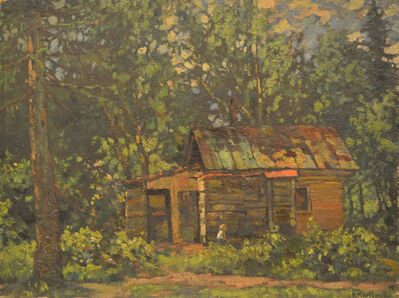 Vasily Leontevich Martynov, 'Cabin in the forest', 1927