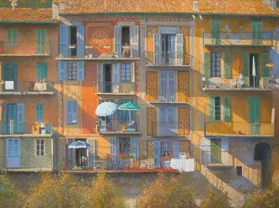 Nicholas Verrall, 'Houses in the Alpes-Maritimes', 2018
