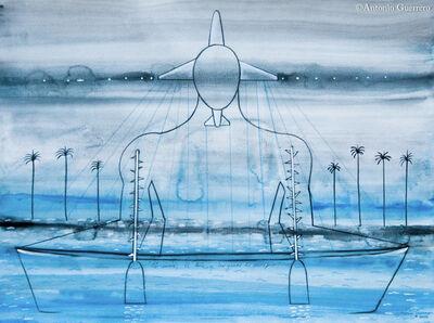 Antonio Guerrero, 'El Avion, El Bote y las Ganas De Escapar', 2016
