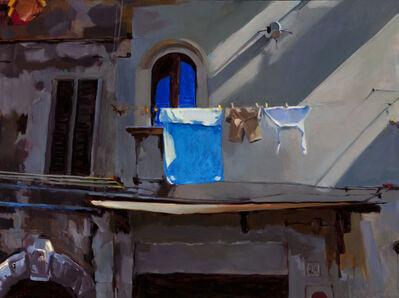Connie Hayes, 'Blue Towel, Civita'