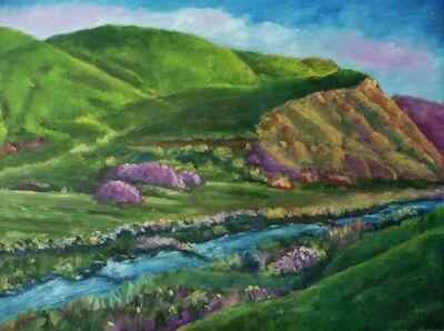 William Kelley, 'Hills of Doolin, Ireland'