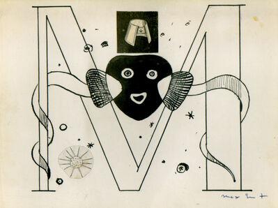 Max Ernst, 'Initial M - Illustration for Benjamin Péret, La Brebis Galante, Paris, 1949', 1949