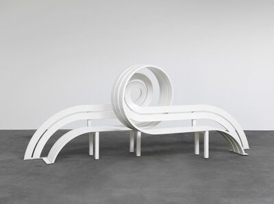 Jeppe Hein, 'Modified Social Bench #28', 2011