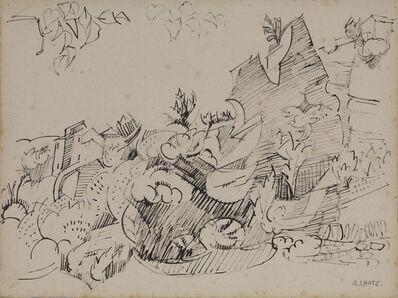 André Lhote, 'Les Rocheres De Gordes'
