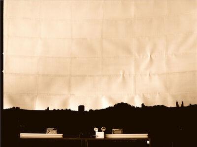 Alessandro Balteo-Yazbeck, 'Southeast Silhouette: La Carlota Airport Fragment, Humboldt Planetarium, c. 1960. Nostalgic Apparatus, Caracas: Heaven's branch on earth', 1998