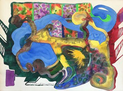 Amaranth Ehrenhalt, 'Green and Blue', 1969