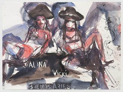 Brad Kahlhamer, 'Alina and Vicki', 2010
