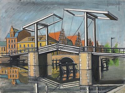 Bernard Buffet, 'Le Pont levant, Haarlem', 1985