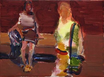 Simon Nicholas, 'Study for Gallery 5', 2021