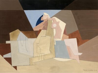 Louis Marcoussis, 'Figures Etendues', 1931