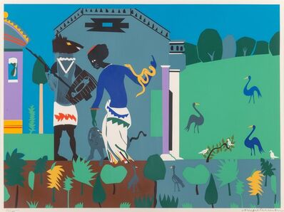 Romare Bearden, 'Circe into Swine, from the Odysseus Series', 1979