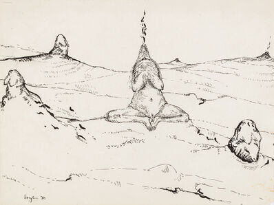 Breyten Breytenbach, 'Holy smoke', 1970