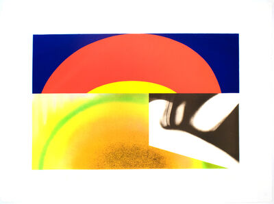 James Rosenquist, 'Brighter than the Sun', 1972
