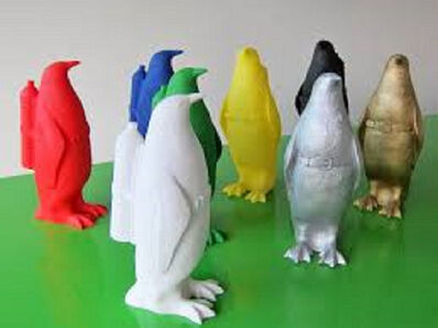 William Sweetlove, 'Cloned Penguin With Petbottle', 2016-2018