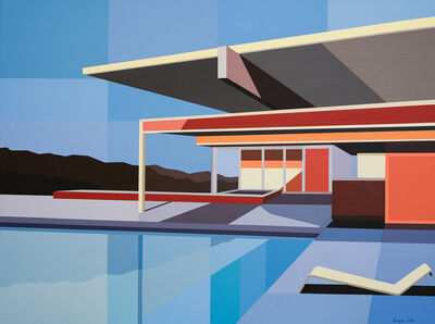 Andy Burgess, 'Re-Imagined Neutra III - Chuey House', 2019