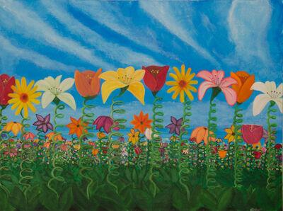 "Stephen Green, '""Spring Flowers""', 2013"