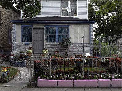 Carlos Diaz, 'hree Blue Windows, Beyond Borders,Home Southwest Detroit', 5258