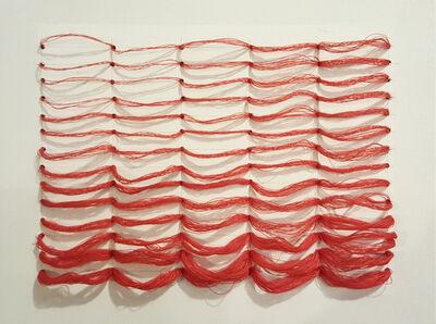 Bumin Kim, 'Red grid', 2016