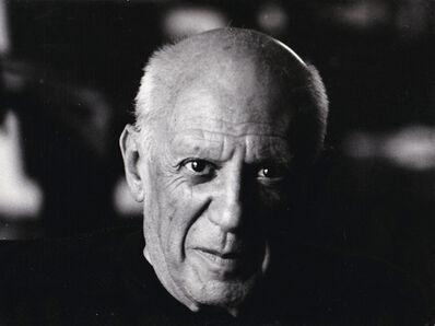 Edward Quinn, 'Portrait of Picasso', ca. 1950