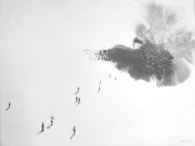 Rubén Fuentes, 'Landscape born from a single brushstroke I', 2014