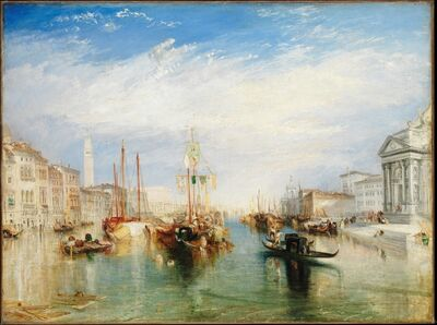 J. M. W. Turner, 'Venice, from the Porch of Madonna della Salute', ca. 1835