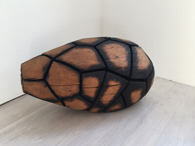 David Nash, 'Mosaic Egg', 2004