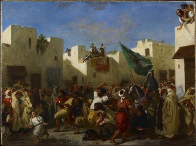 Eugène Delacroix, 'Convulsionists of Tangier', 1837-1838